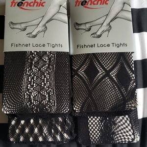 Accessories - Plus Size Fishnet Tights